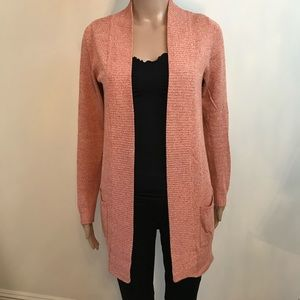 UO Staring at Stars Salmon Cardigan